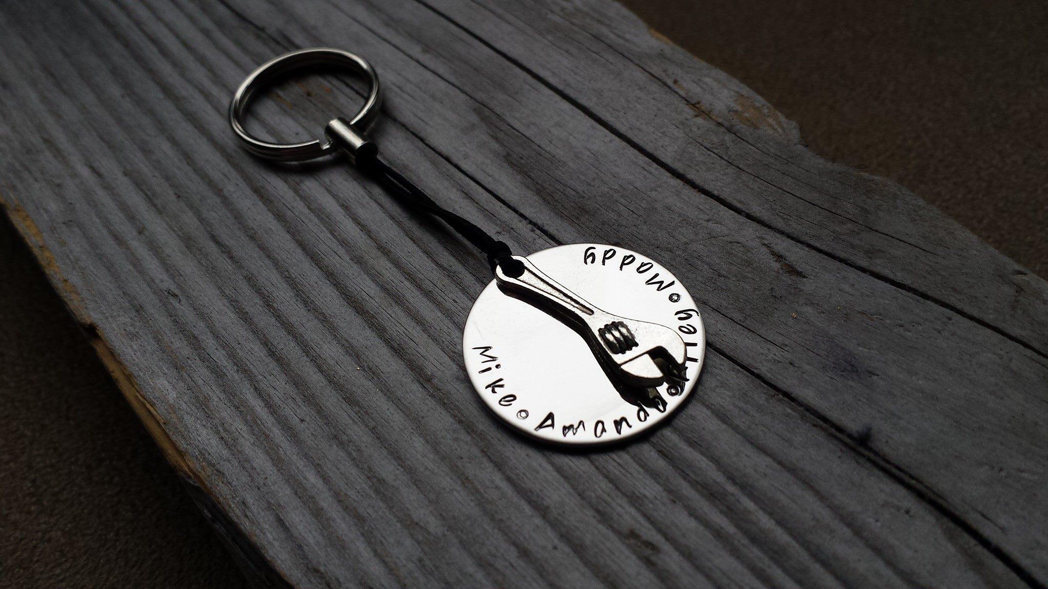Custom Engraved Keychains, Personalized Keychains