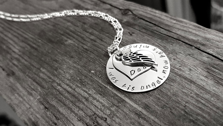 Personalized custom necklaces for mothers personalized memorial necklace aloadofball Image collections